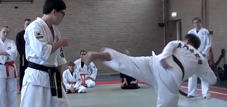 [video] Side kick
