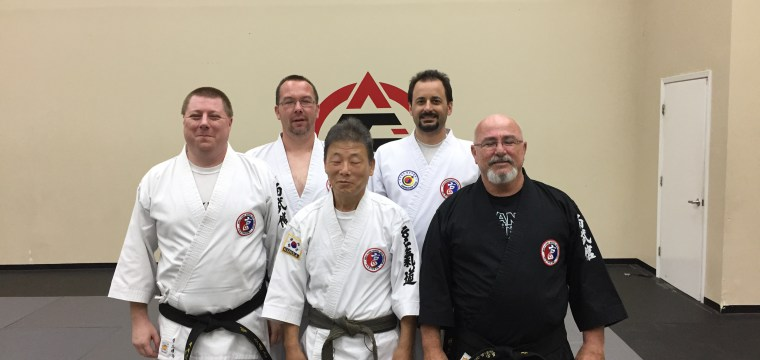 Hankido black belt tests